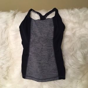 Lululemon sports tank tops size 8